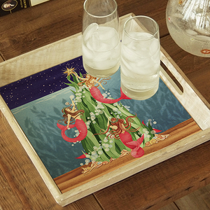 Mermaids Under the Sea Tree Tray - Click to enlarge