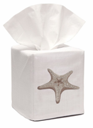 Morning Beige Starfish Tissue Box Cover