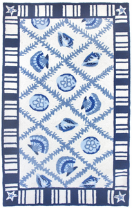 Navy Blues Homefires Rug - Click to enlarge