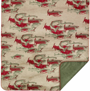 Pacific Five Microplush Throw - Click to enlarge