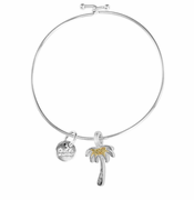 Palm Tree Beach Bangle