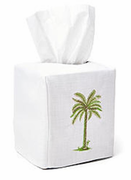 Palm Tree Nautilus Tissue Box Cover