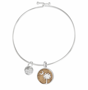 Palmetto Moon Beach Bangle