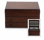 Personalized Bristol Grande Flatware Chest