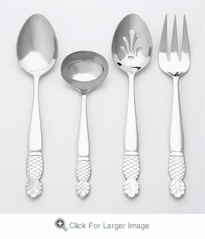 Pineapple Hostess Set - Click to enlarge