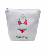 Pink & Green Bikini Bag