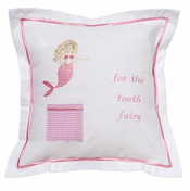Pink Mermaid Tooth Fairy Pillow