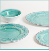 Raised Starfish Dinnerware  sc 1 st  Ocean Offerings & Coastal u0026 Nautical Melamine Dinnerware - Ocean Offerings
