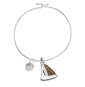 Sailboat Beach Bangle