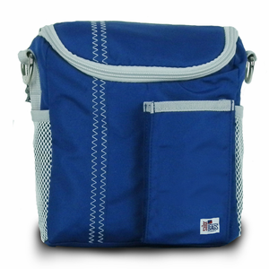 Sailcloth Insulated Lunch Bag - Click to enlarge