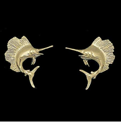 Sailfish Post Earrings