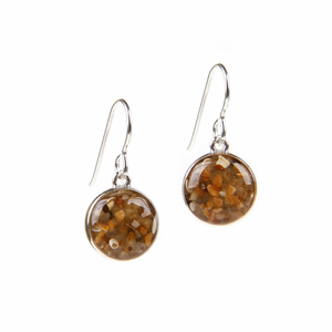 Sand Globe Earrings - Click to enlarge
