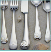 Sea Shell Flatware