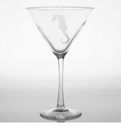 Seahorse Martini Glasses - set of 4