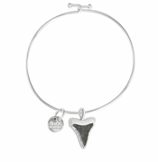 Shark's Tooth Beach Bangle