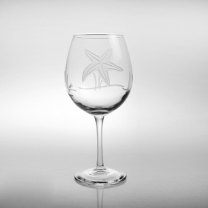 Starfish Balloon Wine Glasses - Click to enlarge