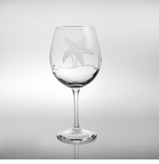 Starfish Balloon Wine Glasses - set of 4