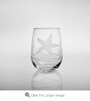 Starfish Stemless Wine - Click to enlarge