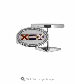 Sterling Silver Cuff Links - Click to enlarge