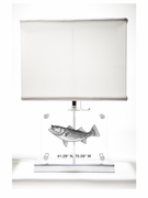 Striped Bass Table Lamp