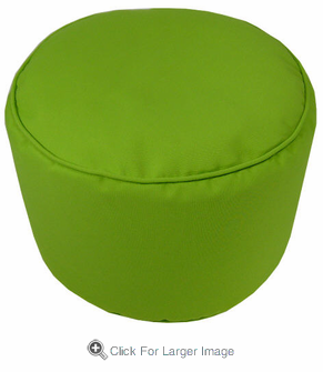 Sunbrella Macaw Pouf - Click to enlarge