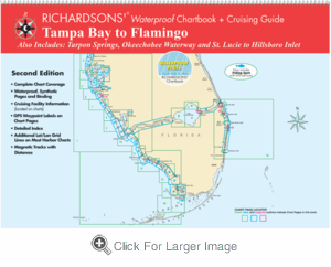 Tampa Bay to Flamingo Waterproof Chartbook, 2nd Edition - Click to enlarge
