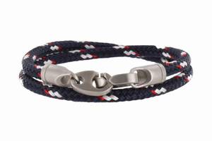 The Contender Double Wrap Rope Bracelet - Click to enlarge
