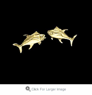 Tuna Post Earrings - Click to enlarge