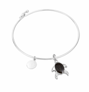 Turtle Sterling Bangle