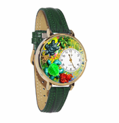 Turtles Gold Watch