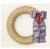 Two-Tone Hampton Wreath