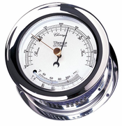 Atlantis Chrome Barometer & Thermometer