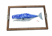 Whale Driftwood Tray