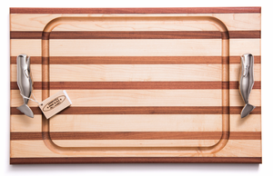 Whale Handle  Steak Carving Board - Click to enlarge