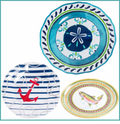 Yacht and Home Melamine Dinnerware