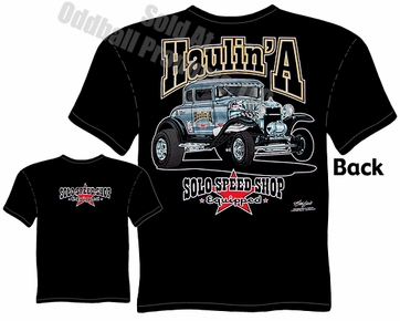 30 31 Ford T Shirt Solo Speed Shop Tee Model A Gasser Clothing