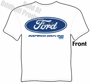 Ford Oval T Shirt Blue Oval Inspired Driving Tee