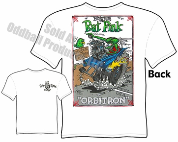 Rat Fink T Shirt Orbitron Big Daddy Clothing Company Ed Roth Tee