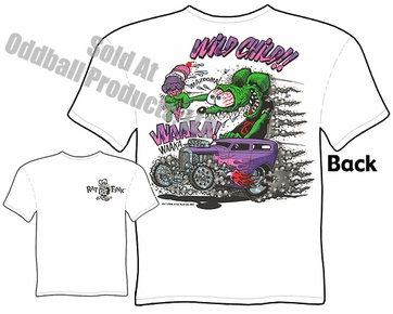 Rat Fink T ShirtWild Child Ed Roth Shirt 32 Ford Sedan Big Daddy Clothing