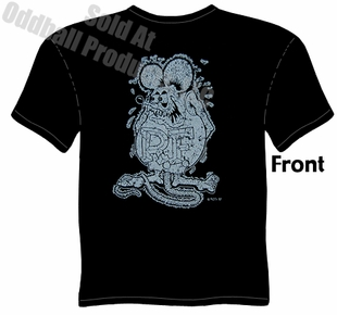 Distressed Rat Fink T Shirt Big Daddy Clothing Ed Roth Shirts