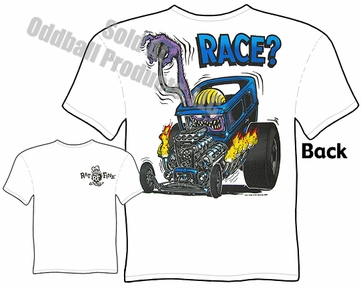 Race? Rat Fink T Shirt Drag Nut Big Daddy Clothing Ed Roth Tee