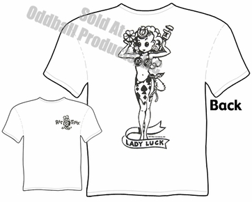 Rat Fink Shirt Lady Luck Big Daddy Clothing Ed Roth Tee