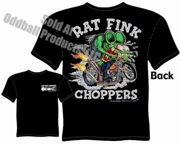 Ratfink T Shirt Rat Fink Choppers T Shirt Big Daddy Clothing