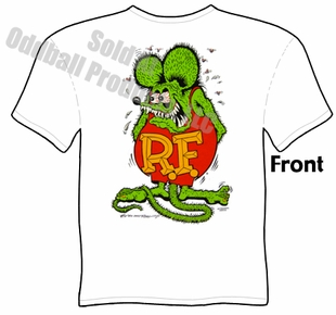 Rat Fink Original T Shirt Big Daddy Shirt Ed Roth Tee
