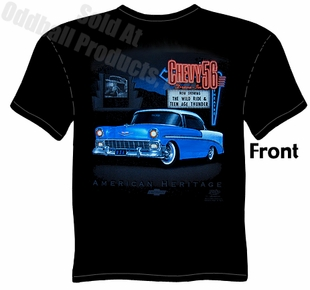 Classic Cars - 1956 Chevy Drive-In T-shirt