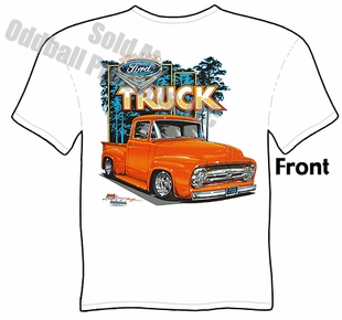 56 Ford Pickup T Shirt 1956 F100 Truck Tee