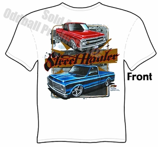 1967-1972 Chevy Pickup T Shirt Chevrolet 67-72 C10 Truck Tee
