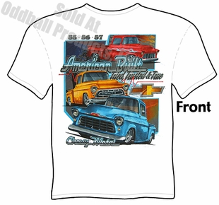 Classic Trucks - 55, 56, 57 Chevy Trucks T-shirt
