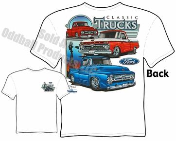 55 56 66 Ford F100 Pickup T-shirt