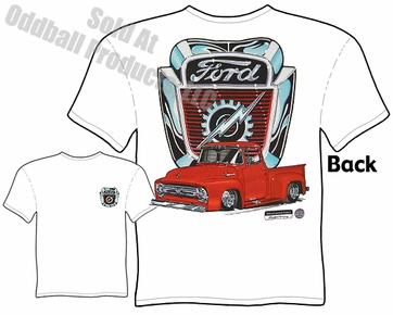 54 55 56 F100 T Shirt 1954 1955 1956 Ford Pickup Truck Tee
